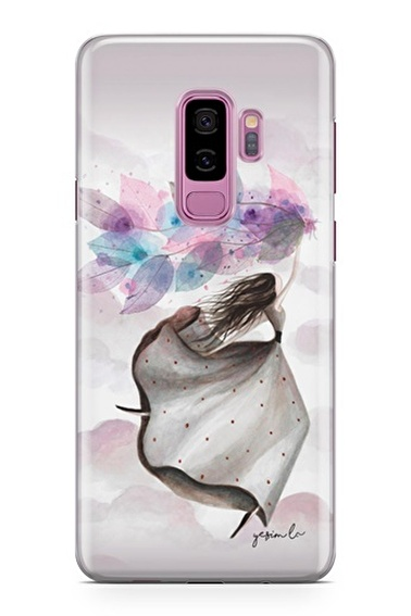 Lopard Samsung Galaxy S9 Plus Kılıf Mutlu Peri Kapak Renkli